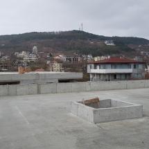 Бриз, Варна, качество, сигурност, Покрив на къща 3 поглед към къщи 1 и 2