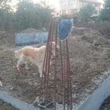 Бриз, Варна, Обратен насип на фондамент - къщи 1 и 2