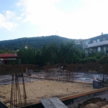 Бриз, Варна, качествено, сигурност, строителство, Обратен насип и подготовка на основата къщи 1 и 2