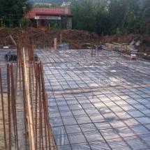 Бриз, Варна, Армировка на основи къщи тип 1 и 2