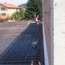 Бриз, Варна, качество, Армировка на втора плоча къща 1