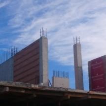 Колони на етаж 2 от къща тип 2, Бриз, Варна, тухли, колони, бетон, качество, сигурност,
