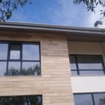 фасада, изток, травертин, изолация