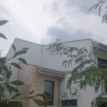 Варна, Горна Трака, фасада, запад, травертин, мазилка, Baumit