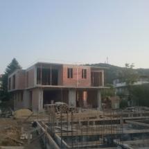 Армировка на основата на къща 3 и изглед към къщи 1 и 2, Бриз, Варна