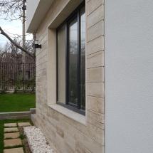 Варна, Горна Трака, качество, сигуроност, алея и облицовка на фасада с травертин