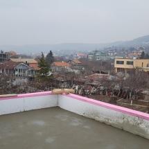 Замазка на покрива на къща 4