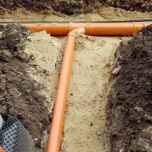 канализация, ВиК, полагане, бризварна, къщи