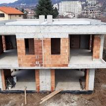 къщи 1 и 2, ВиК, топлоизолация, хидроизолация