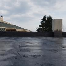 Първи слой хидроизолация на покрива