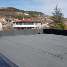 Полагане на втори слой хидроизолация на покривите