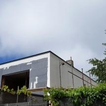 Баумит шпакловка на източната фасада