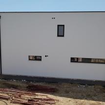 Фасада север на къща 4. Баумит мазилка. 10 см. топлоизолация. #BAUMIT