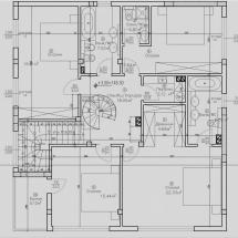 втори етаж, три спални, три санитарни възела, дрешник, перално