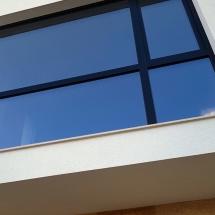 фасада, травертин, Баумит мазилка, френки прозорци