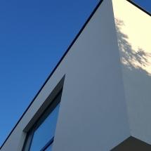 Baumit фасада, френски прозорци
