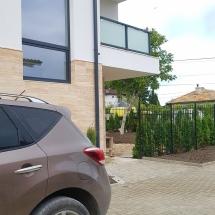фасада, жилище, улица