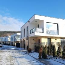 Зимен изглед на Бриз Варна